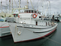 Tacoma, first Tuna fishing boat, Port Lincoln SA